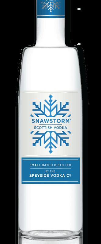 Snawstorm Scottish Vodka - Scottish vodka from Speyside