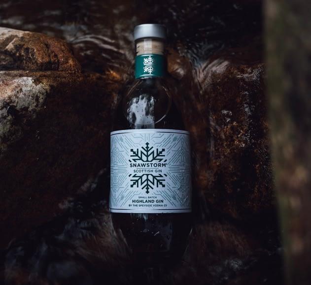 snawstorm gin  buy online scottish craft gin